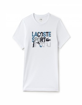 Lacoste TH2088 T Shirt S/S Wit